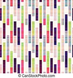 abstrakt, geometrisch, gestreift, seamless