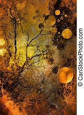 Abstrakt und Grunge-Hintergrund