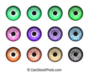 Abstrakte Augen 2.