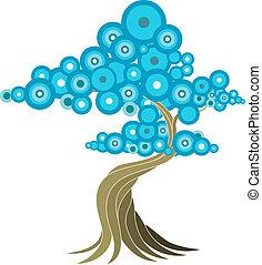 Abstrakte Baum-Illustration