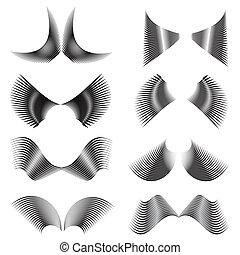 Abstrakte Flügel