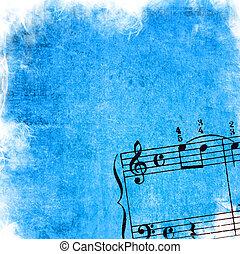 Abstrakte graue Melodien und Hintergrund