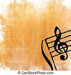 Abstrakte, grunge melody Texturen und Hintergrund - perfekter Hintergrund für Text oder Bild