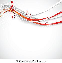 Abstrakte Musik.