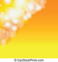 Abstrakte, verschwommene, orange.