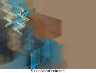 Abstrakte Wellen im Hintergrund