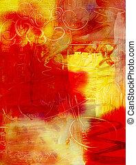 Abstrakter Acrylfarbenhintergrund.