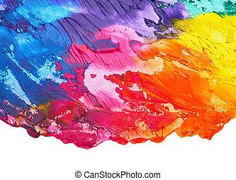 Abstrakter akryler Hintergrund