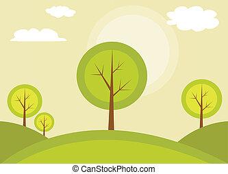 Abstrakter Baum.