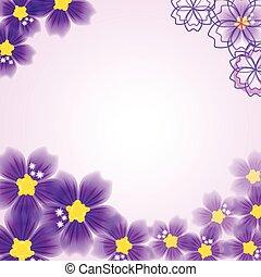 Abstrakter Blumenhintergrund.