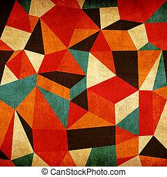 Abstrakter, farbenfroher Hintergrund