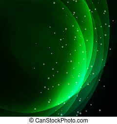 Abstrakter grüner Hintergrund