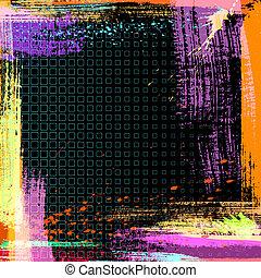 Abstrakter Grunge-Hintergrund, Vektor