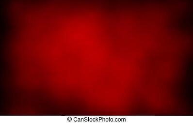 Abstrakter Hintergrund des roten Rauchs.