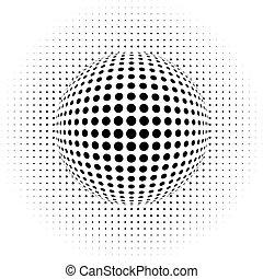 Abstrakter Hintergrund - optischer Illus