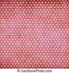 Abstrakter Polka Dot Vintage Hintergrund