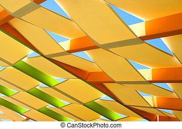 Abstraktes Dach.