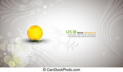 Abstraktes Design  ⁇  EPS10 Vektor Hintergrund