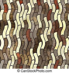 Abstraktes grunge nahtloses Muster