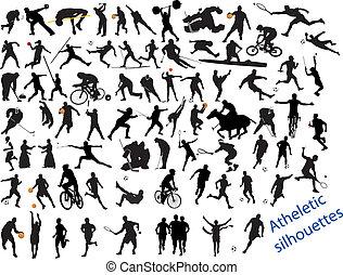 Action, gepackter Sport