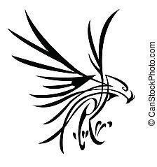 Adler-Tattoo