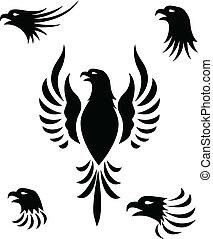 Adlerkopf-Tattoo
