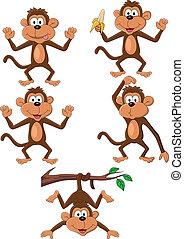 Affen Cartoon