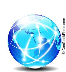 Afrika, Arabisch und Indien global