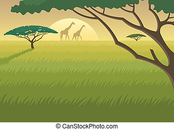 Afrikalandschaft