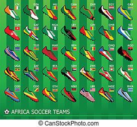 afrikanische Fußballteams