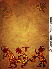 afrikanische nationale Muster