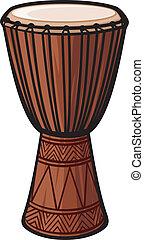 Afrikanische Trommel (Musikinstrument)
