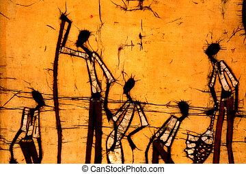 Afrikanischer Kunst-Bedik
