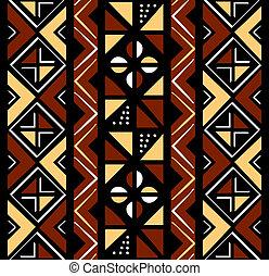 Afrikanisches nahtloses Muster