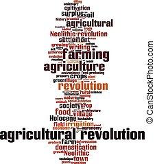 Agrarrevolutionswort Wolke