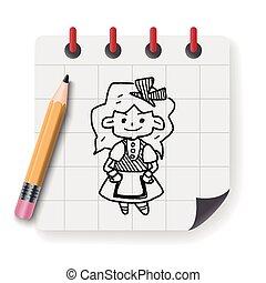 Alice in Wonderland Doodle.