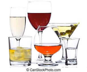Alkoholgetränke.