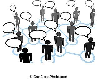 Alle reden über ein Kommunikationsnetzwerk