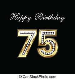 Alles Gute zum Geburtstag 75