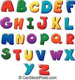 Alphabetbriefe.