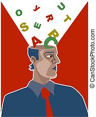 Alphabetisches Gehirn