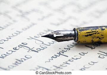 Alt geschrieben