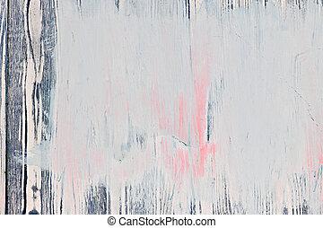 Alt gestrichener Holzhintergrund