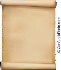 Alt getragener Papier Hintergrund. Vector.
