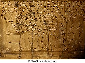Alte ägyptische Schrift