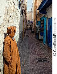 Alte arabische Straße.