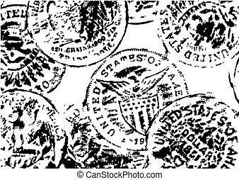 Alte Dollar Illustration