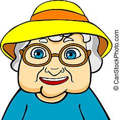 Alte Großmutter