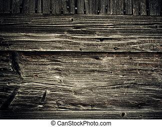 Alte Holzplanken. Abstrakter Grunge-Hintergrund