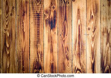 Alte Holzsprünge vertikal